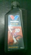 Valvoline fork and shock oil 10W